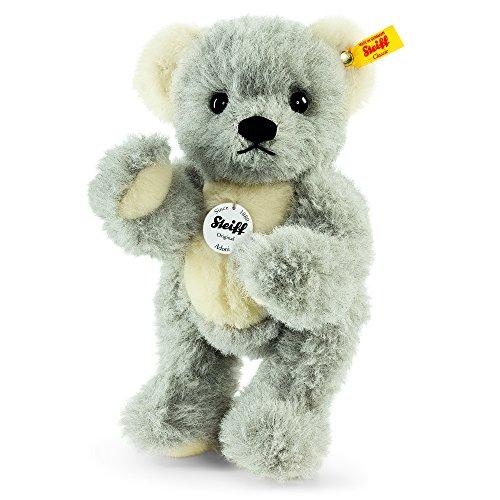 Steiff 039379 Adoni Teddybär grau/weiß 5-fach