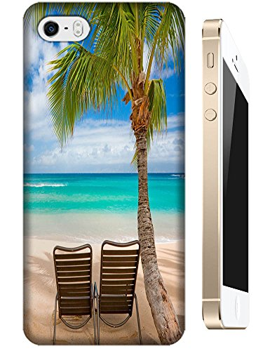 Cell Phone Case Beach Design Beautiful Sunshine Water Trees For Iphone 4/4S No.4 front-978670
