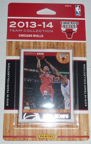 Chicago Bulls 2013 2014 Hoops Basketball NBA Licensed Factory Sealed 9 Card Team Set with Derrick Rose, Joakim Noah Plus at Amazon.com