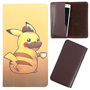 DooDa - For XOLO Q520s PU Leather Designer Fashionable Fancy Case Cover Pouch With Smooth Inner Velvet