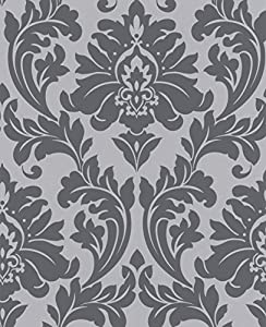 Majestic Grey Wallpaper