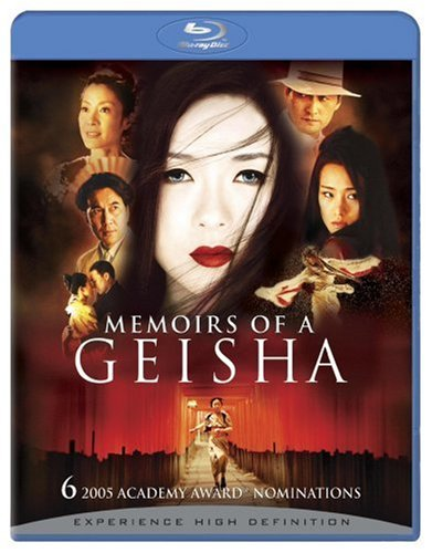 Cover art for  Memoirs of a Geisha [Blu-ray]