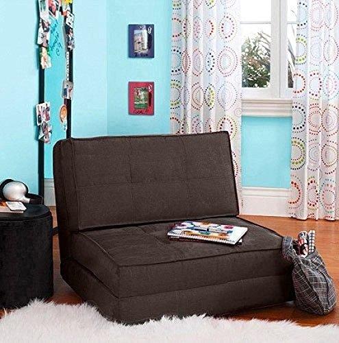 Flip Chair Convertible Sleeper Dorm Bed Couch Lounger Sofa