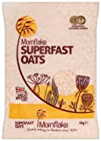 Mornflake Superfast Oats Bag 1 Kg (Pack of 6)
