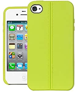 iPhone 4 Case, DEFENDER Series Back Case Cover For Apple iPhone 4 (Green)