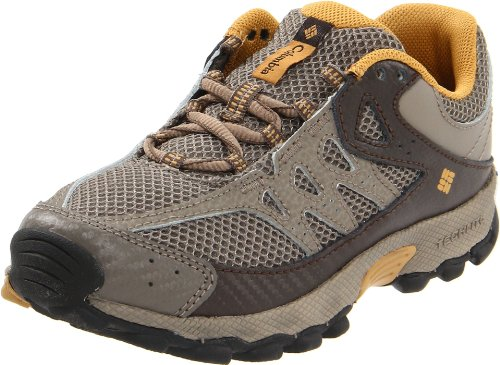 Columbia Sportswear BY3168 Switchback Low-Top Lace Hiking Shoe (Little Kid/Big Kid),Mud/Mocassin,1 M US Big Kid