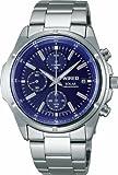 [ワイアード]WIRED 腕時計 ソーラー ハードレックス クロノグラフ 日常生活用強化防水 (10気圧) AGAD041 メンズ