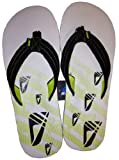 Mens Reef Seared Ahi Flip Flops (Black & Lime)