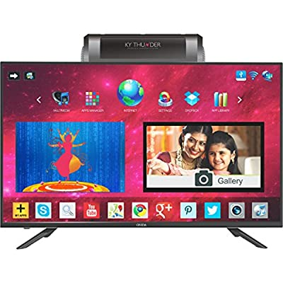 Onida 127 cm (50 inches) Thunder Series LEO50KYFAIN Full HD Android Smart TV (Black)