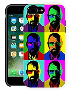 "Humor Gang Heisenberg Retro Art Printed Designer Mobile Back Cover For ""Apple Iphone 7 Plus"" (3D, Matte, Premium Quality Snap On Case)"