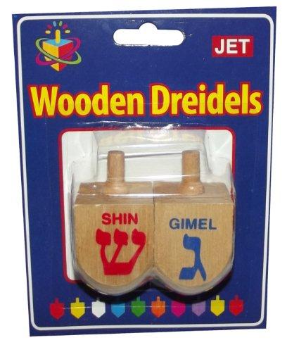 Wooden Dreidel-2 pack
