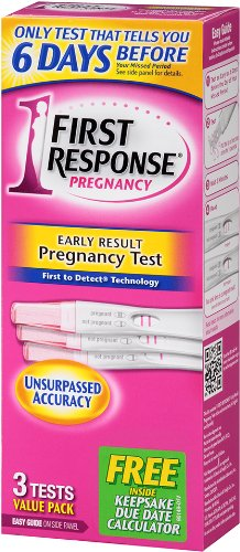 First Response Early Result Pregnancy Test, 3 tests, Packaging May Vary
