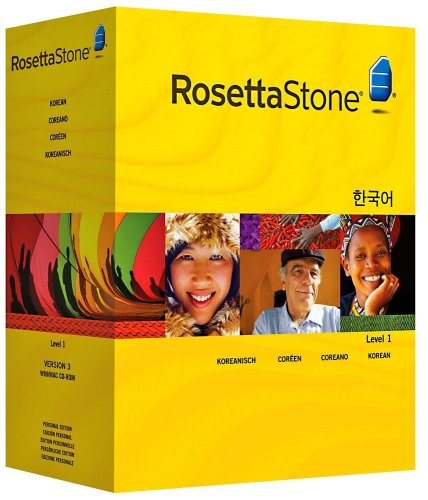 Rosetta Stone Version 3: Korean Level 1 with Audio Companion (Mac/PC CD)