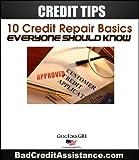 51NhZzbx%2BeL. SL160  Credit Tips: 10 Credit Repair Basics, Everyone Should Know eBook (Credit Assist)