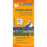 Carte Espagne Nord Pays Basque Michelin