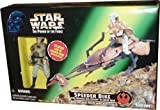 1997 - Hasbro - Star Wars - Power of the Force - Speeder Bike w/ Princess Leia Organa in Endor Gear - Limited Edition - Collectible