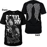 The Walking Dead Daryl Dixon Tshirt Sleeveless Black T-SHIRT (M)