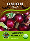 Search : Toland Home Garden Organic Red Marble Onion Seeds