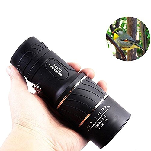 Elikeable-EL-Day-Night-Vision-16x52-Dual-Focus-Optics-Zoom-Monocular-Telescopes-Day-and-Night-Vision-for-BirdsWildlifehuntingcampinghikingTourismArmoring-66m-8000m