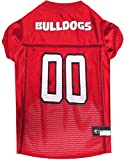 Pets First Collegiate Georgia Bulldogs Dog Mesh Jersey, X-Large