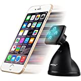 Car Mount, Mpow Magneto Mobile Phone Universal Magnetic Car Mount Holder Cradle with Textured Dashboard / Windshield / Desktop Suction Technology for iPhone 6/6plus/5S/5/4S/4, Samsung Galaxy S5/S4