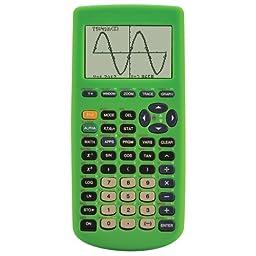Guerrilla Silicone Case for Texas Instruments TI-83 Plus Graphing Calculator, Green
