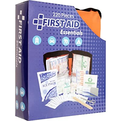 Trademark Home First Aid Essentials, Set of 220 Pieces by Trademark Home