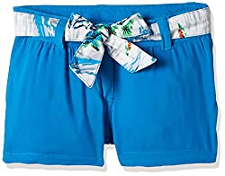 UFO Girls' Shorts (AW16-NDF-GKT-410_Blue_4 - 5 years)