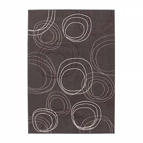 Teppich CESTONE - Anthrazit/ Grau/