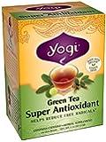 Yogi Super Antioxidant Green Tea, 16 Tea Bags (Pack of 6)