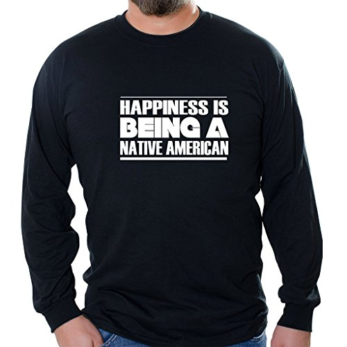 tag-express-happiness-is-being-a-native-american-unisex-long-sleeve-shirt