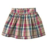 Cherokee® Girls' Plaid Skirt - Tan/Pink