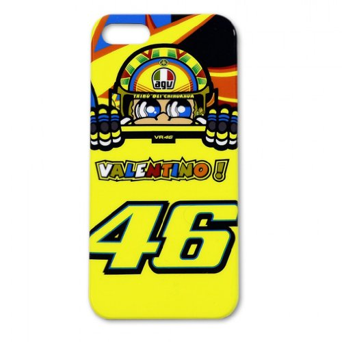 2014 Official Valentino Rossi Vr46 The Doctor Iphone 5 5S Case Yellow