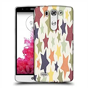 Snoogg colorful stars 2608 Designer Protective Back Case Cover For LG G3 BEAT STYLUS