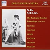 Nellie Melba - Paris and london Recordings (1908-1913)