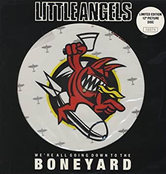 LITTLE ANGELS - Boneyard - Pic Disc - 12 inch 45 rpm