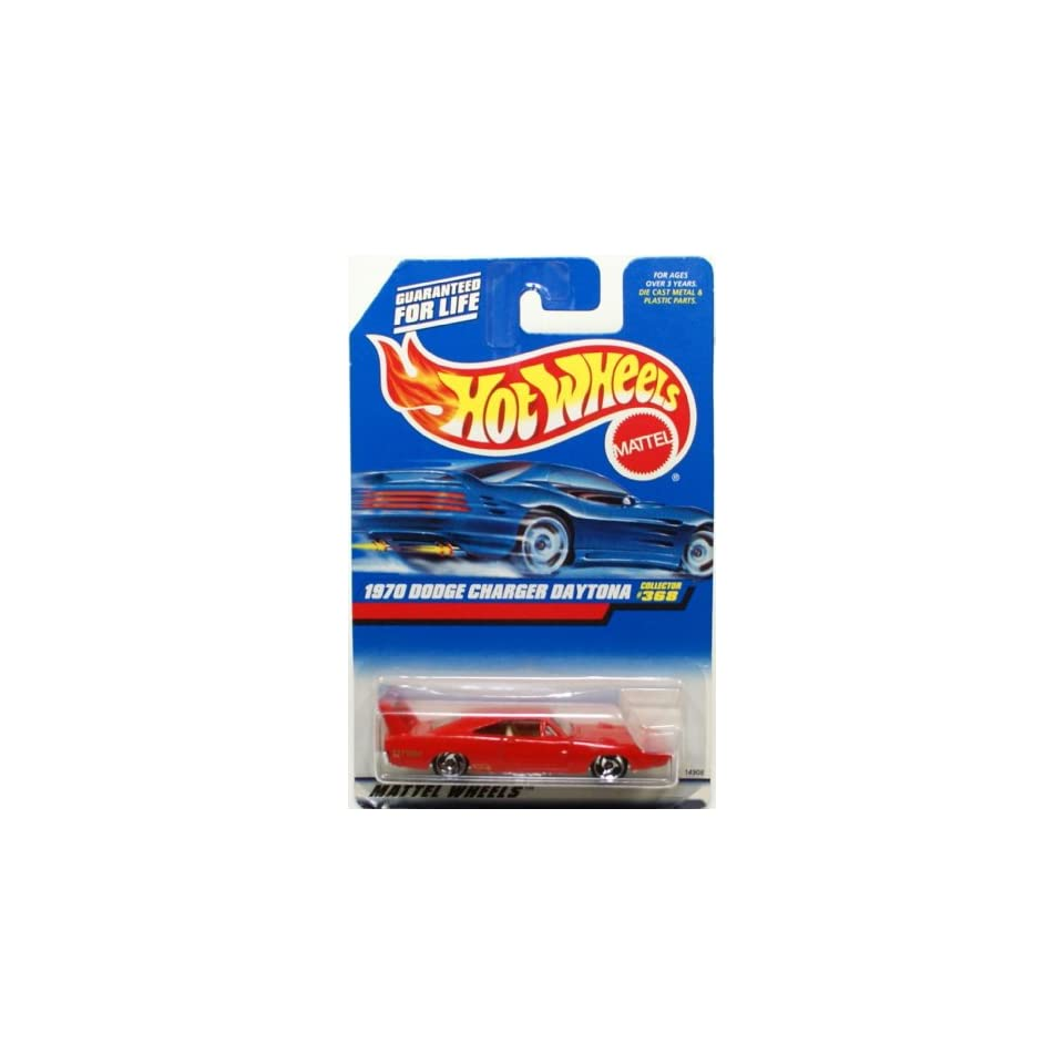 Mattel Hot Wheels 1998 164 Scale Red 1970 Dodge Charger Daytona Die Cast Car Collector #368