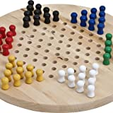 Wooden Chinese Checkers Set