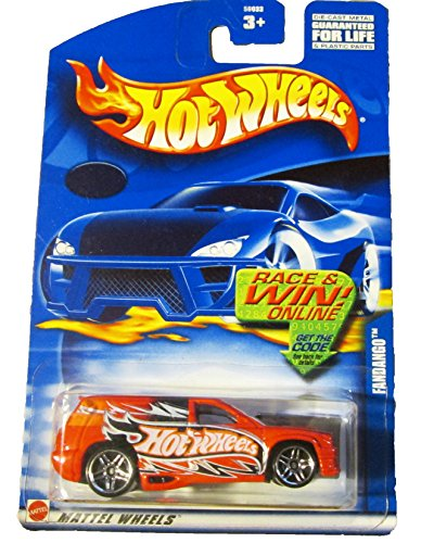 #2001 Fandango Blue Book Exclusive Red Collectible Collector Car Mattel Hot Wheels 1:64 Scale