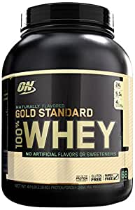 Optimum Nutrition Gold Standard Natural Whey Vanilla -- 5 lbs