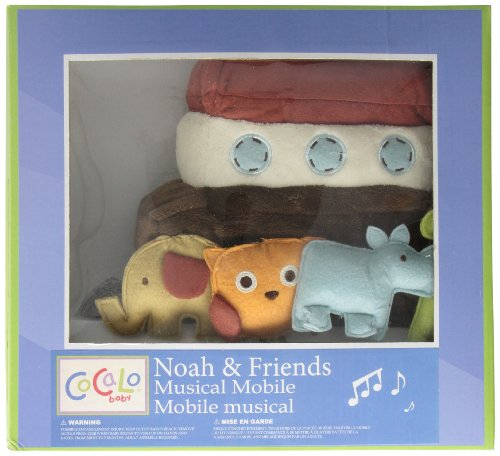 Cocalo Noah and Friends Musical Mobile