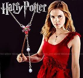 映画 ハリー・ポッター Harry Potter ハーマイオニー ネックレス ★特典:直筆サインフォトカード付! Hermione エマ・ワトソン