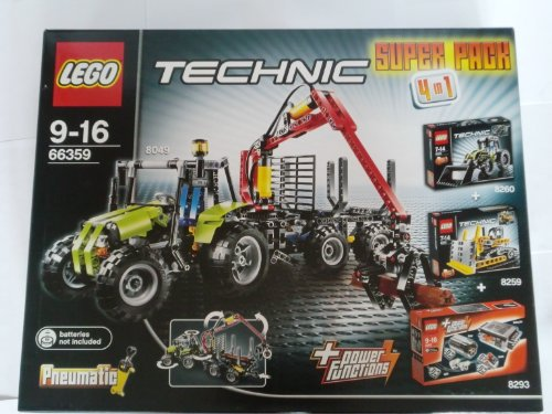 LEGO Technik 66359 Superpack 4