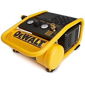 DEWALT D55140 Heavy-Duty 1 Gallon 135 PSI Max Trim Compressor
