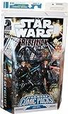 Star Wars Comic Packs: Rebellion #3: Luke Skywalker & Deena Shan Action Figures