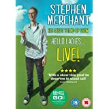 Stephen Merchant Live - Hello Ladies [DVD]by Stephen Merchant