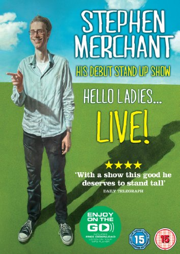 Stephen Merchant Live - Hello Ladies [DVD]
