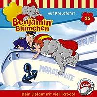 Benjamin auf Kreuzfahrt (Benjamin Blümchen 25) Hörbuch