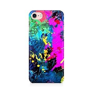 NXT GEN Artful Splatter Premium Printed Mobile Back Case Cover For Apple iPhone 7