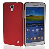 MOONCASE Hard Rubber Coating Back Case Cover for Samsung Galaxy Mega 2 G7508Q Red